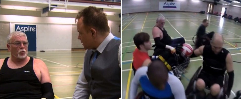 Aspire Leisure Centre on Channel 5 News